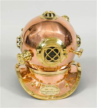 Diving helmet in the old style (rep