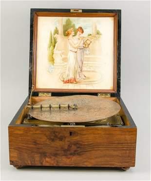 Calliope/hole plate music box, late