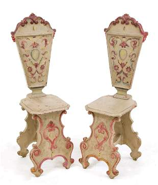 Pair of board chairs, Scandinavia 1