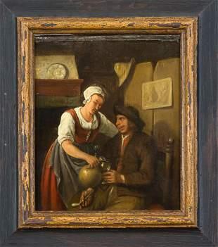 Anonymous Dutch genre painter of th