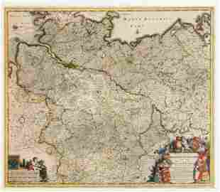 Two historical maps of the 18th cen