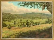 Emilio Span (1869-1944), painter wo
