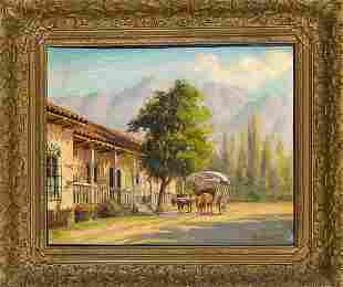 A. Lobos, probably Chilean painter,