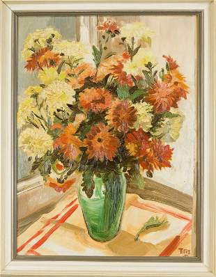signed Tilke, unidentified painter