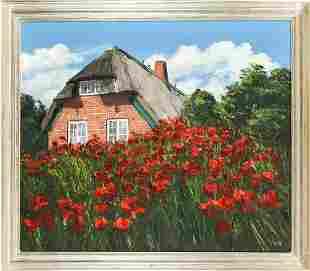 signed Watt, German painter 2nd hal