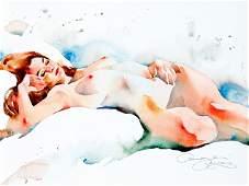 Erotica -- unidentified artist of t