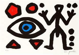 A.R. Penck (1939-2017), ''Eye and F