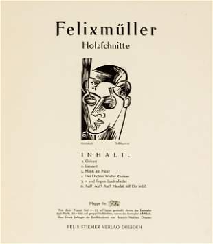 Conrad Felixmüller (1897-1977), ''H
