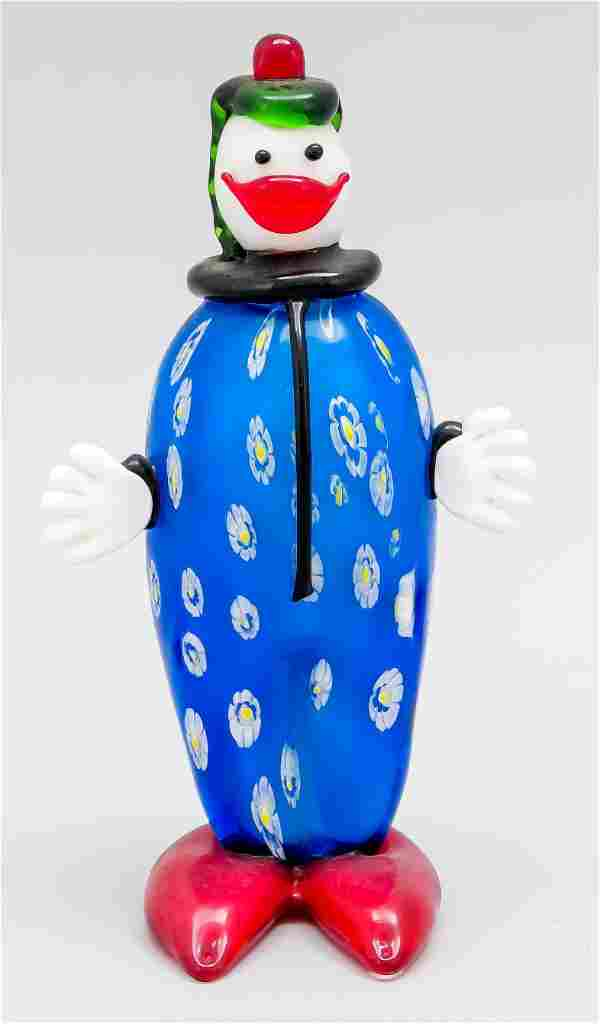 Standing clown, Italy, 20th c.