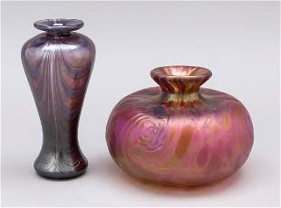 Two vases, 20th c., different