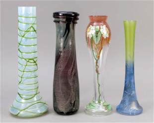 Four vases, 2nd half of the 20