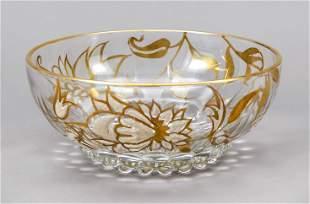 Round bowl, 20th c., model-blo