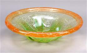 Large round Art Deco bowl, WMF