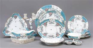 Large dinner service for 6 per