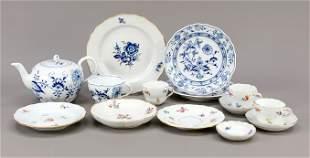 Set of 14 pieces, Meissen, 20t