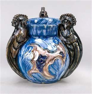 Art Nouveau ceramic vase, c. 1