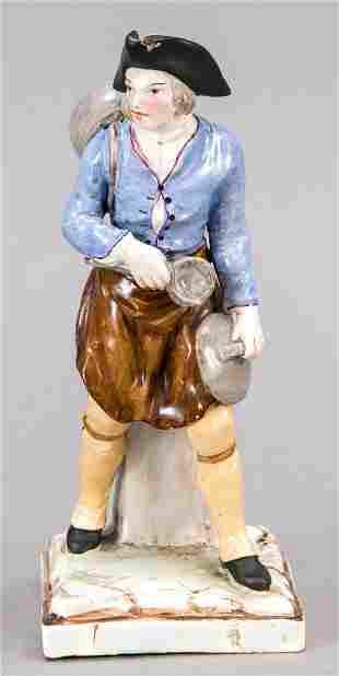 Market vendor, 19th c., cerami