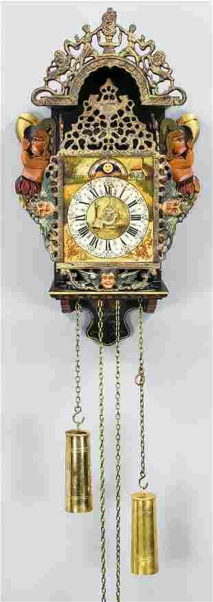 Seagull clock/chair clock, Fri
