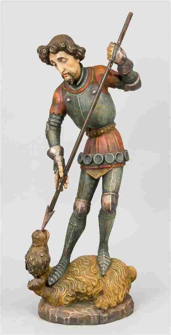 Large figure of St. George fig