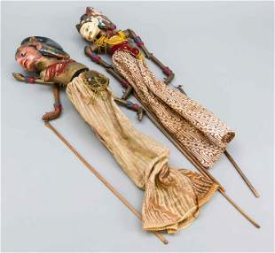 Pair of stick dolls, Southeast