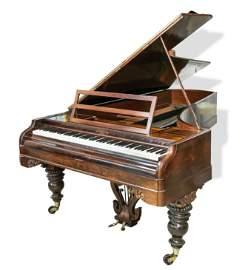 Rare concert grand piano with