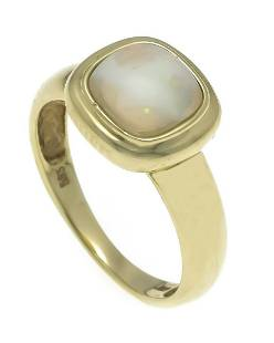 Opal ring GG 585/000 with a cu