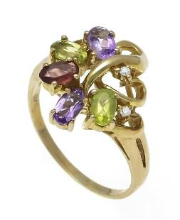 Multicolor ring GG 333/000 wit