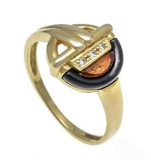Brilliant bakelite ring GG 585