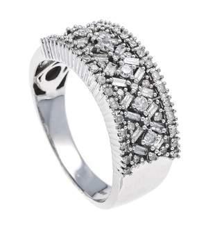 Diamond ring WG 585/000 with b