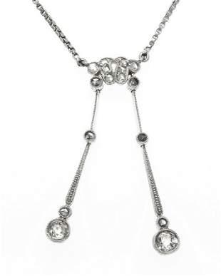 Art deco necklace WG 585/000 w
