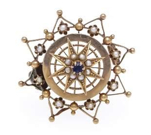 Art Nouveau brooch RG 585/000