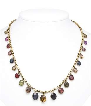 Multicolor necklace GG 750/000