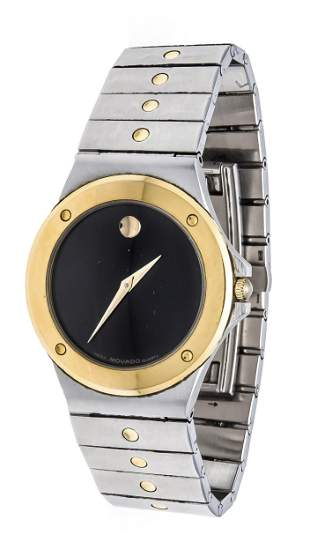 Movado men's quartz watch, ref