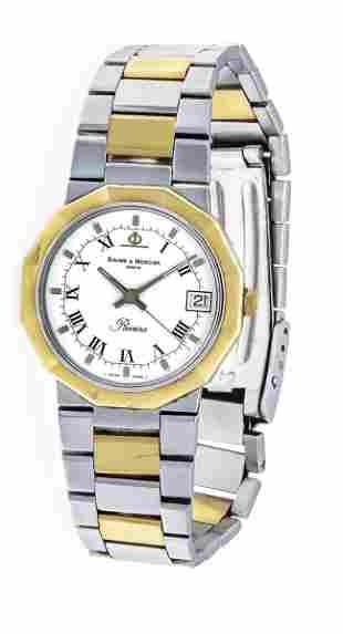 Baume & Mercier quartz watch,
