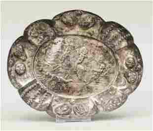 Oval bowl, probably German, c.