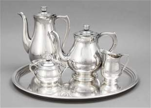 Four-piece coffee and tea cent