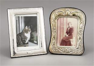 Two photo stand frames, Italy,