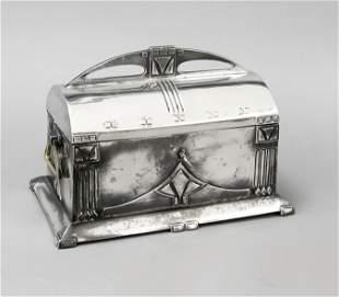 Rectangular Art Nouveau casket