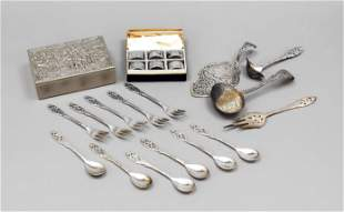 27 pieces of cutlery, 20th c.,