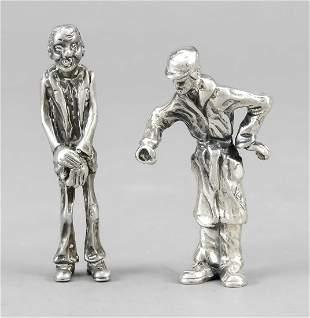 Two miniature caricatures, Ita