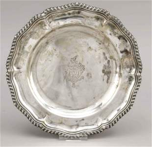 Plate, England, 1929, maker's