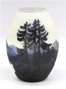 Large vase, France, c. 1920, Muller