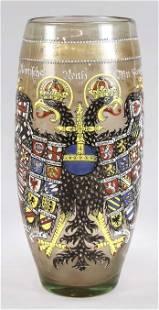 Large historicism vase, c. 1880, rou