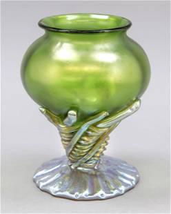 Vase, Hungary, 20th c., round stand,