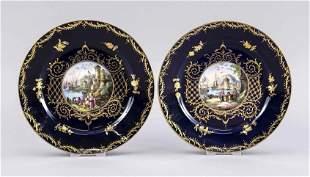 Two picture plates, Thuringia, aroun