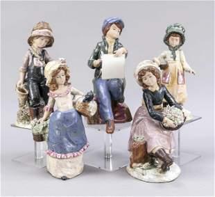 Five figures of children, Levantina,