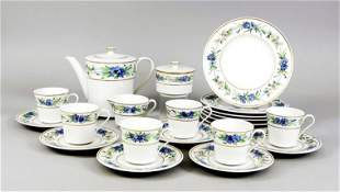 Coffee service for 6 persons, 21 pie