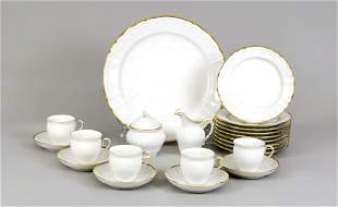 Coffee service for 9 persons, 30 pie