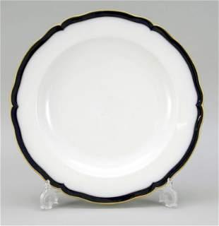 Rounded bowl, KPM Berlin, World War