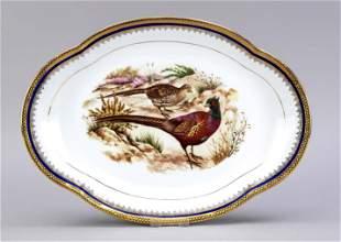 Oval platter, Limoges, France, 20th
